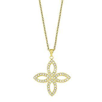 s.Oliver juvel damer halsband rostfritt stål guld SO1450/1 - 9240661
