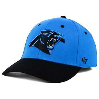 Carolina Panthers de la NFL marque 47 Contender Stretch monté Hat