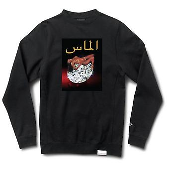 Diamond Supply Co Arabic Lady Crewneck Black