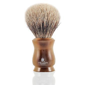 Vie lange 14835 Mix Badger og hest hår barbering Brush