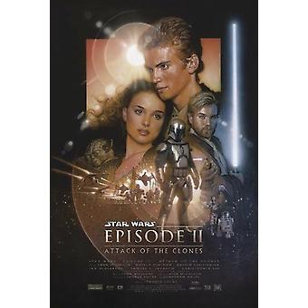 Star Wars Episode II plakat-angreb af kloner 101,5 x 68,5 cm
