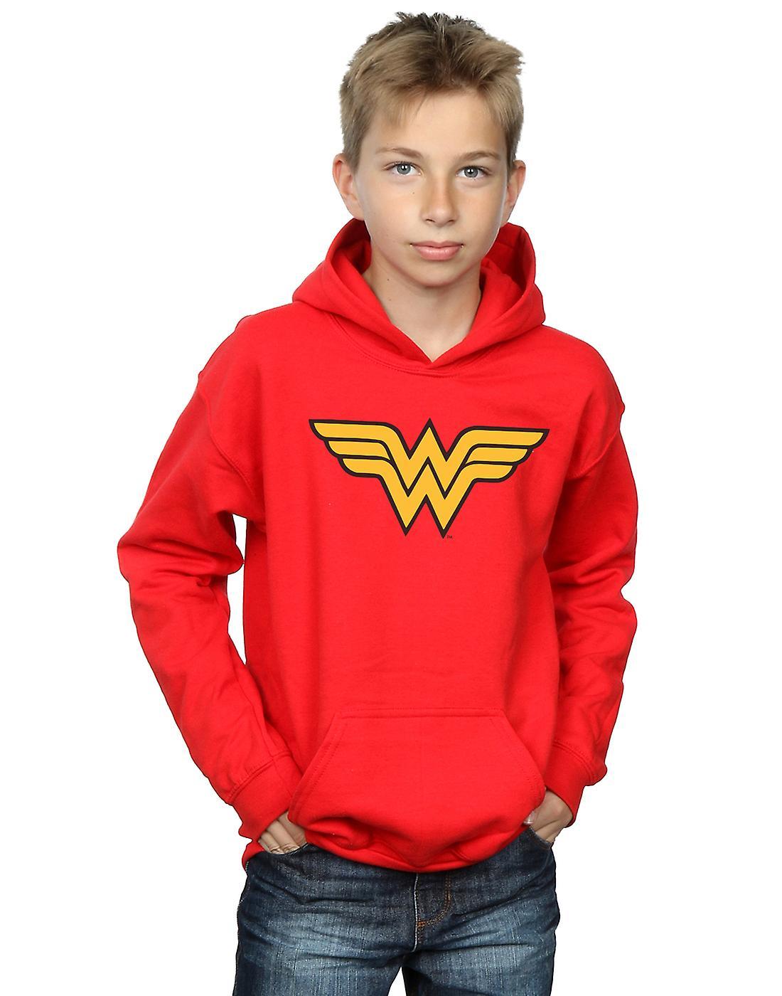 DC Comics Boys Wonder Woman Logo Hoodie