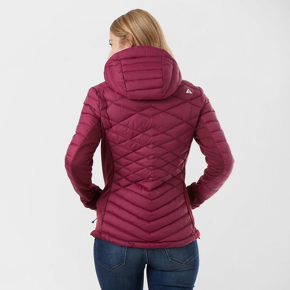 New Technicals Women's Full Zip Long Sleeve Breeze Hybrid Down Jacket