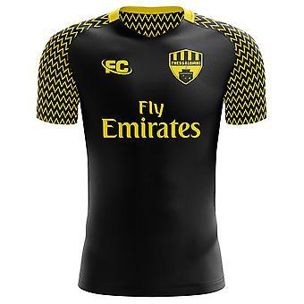 2018-2019 Aris Thessaloniki Home Concept Football Shirt