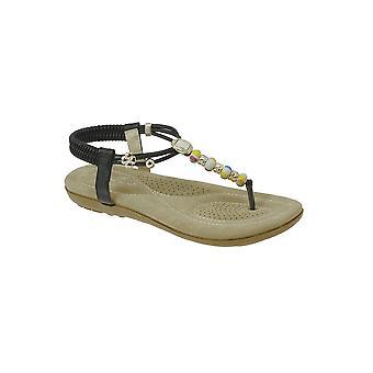 JLH708 Bok damer pärlstav pulserande bekväma Thong mode Beach sandaler