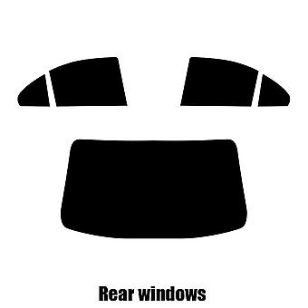 Pre cut window tint - Mitsubishi Lancer 4-door Saloon - 2005 to 2008 - Rear windows