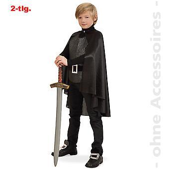 Ridder kostume børn krigere af Black Knight musketer barn kostume