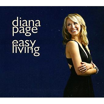 Diana Page - Easy Living [CD] USA import