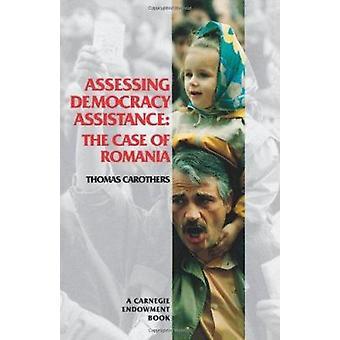 Romaniaan Thomas Carothe asian arvioinnissa demokratian tuki-