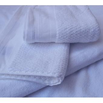 1 piece of bath towels and 2 towels in 100% cotton