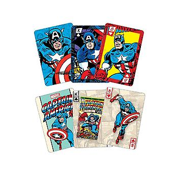 Captain America Playing Cards And TinMulticoloured