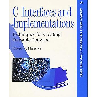 C las Interfaces y las implementaciones: técnicas para la creación de Software reutilizables (Addison-Wesley Professional Computing)