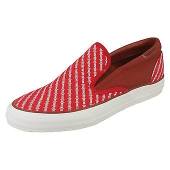 Mens Converse Slip On Shoes Skid Grip