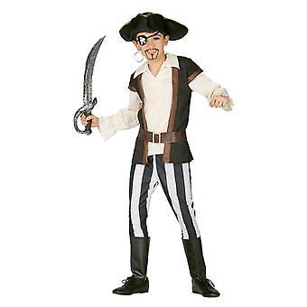 Boys Bloodthirsty Pirate Fancy Dress Costume