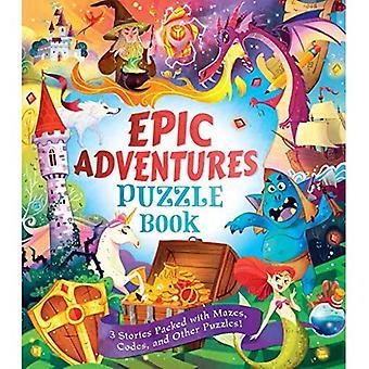 Epische Abenteuer-Puzzle-Buch