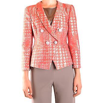 Armani Collezioni Ezbc049029 Damen's Orange Polyester Blazer