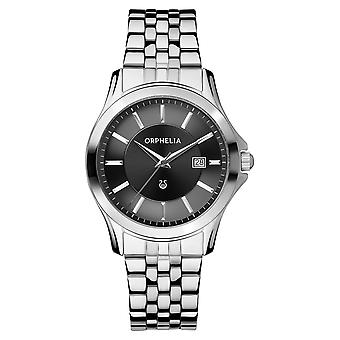 ORPHELIA Mens Analogue Watch Galaxy Silver Stainless steel 153-7709-48