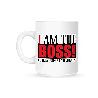 Grindstore I Am The Boss Mug