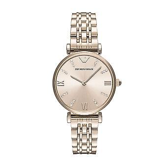 Emporio Armani Ar11059 Ladies Rose Gold Blush Bracelet Watch