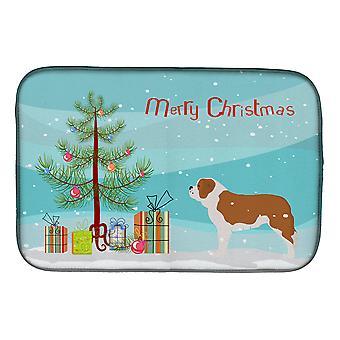 Saint Bernard Merry juletre Dish tørking mat
