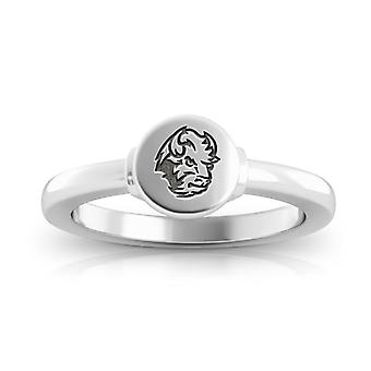 North Dakota State University Engraved Sterling Silver Signet Ring