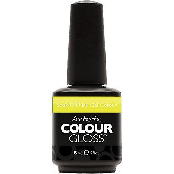 Artistic Colour Gloss Gel Nail Polish Collection - Monkey Business (03171) 15ml