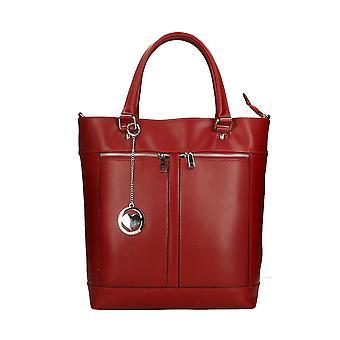 Läder handväska tillverkad i Italien P9115