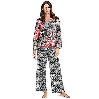 Feraud 3191009-10005 Women's Couture Black Multicolour Cotton Pyjama Set