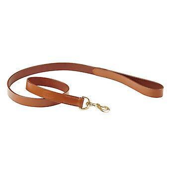 Weatherbeeta Leather Dog Lead - Tan