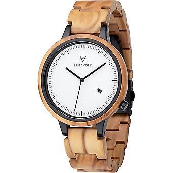 Kerbwood - Wristwatch - Unisex - Lamprecht - 4251240409894