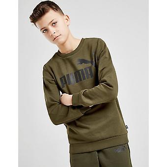 Novo Puma Boys ' Core logo Crew camisola verde