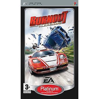 Burnout Legends Platinum (PSP)-fabriken förseglad