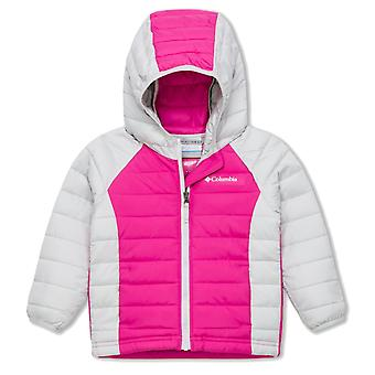 Columbia Powder Lite baby Hooded Jacket | Pink Ice