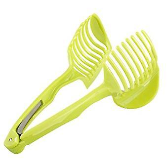 GEN Tomato Slicer ,Multifunctional Handheld Tomato Round Slicer Fruit Vegetable Cutter,Lemon Shreadders Slicer