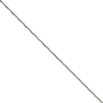 Stainless Steel Polished 1.80mm Fancy Link Chain Necklace Jewelry Gifts for Women - Length: 18 to 20