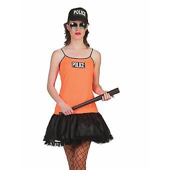 Fille de police Olivia Costume Femmes Garde de police Costume femmes