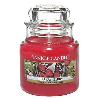 Vela yankee Clássico Pequeno Jar Red Raspberry Candle 104g
