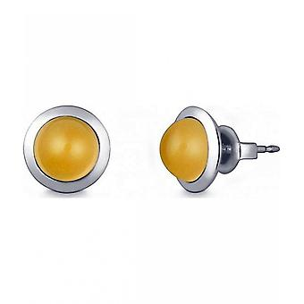 Quinn - Silver Stud with Citrine - 036838911
