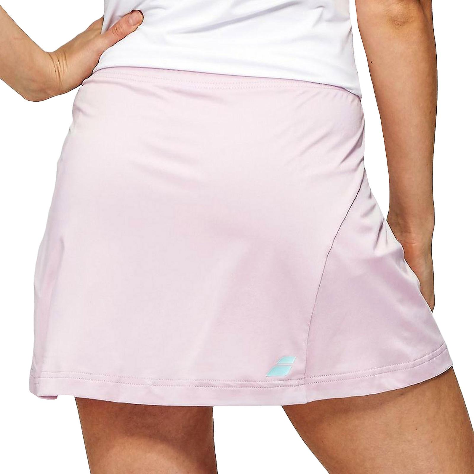 Babolat Womens No 1 Core Sports Fitness Active Training Tennis Skirt - Purple