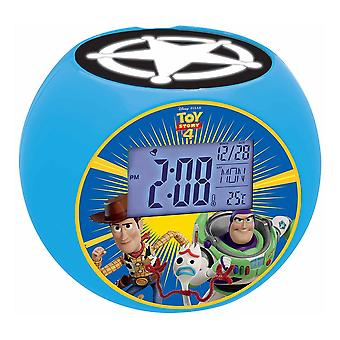 Lexibook Disney Toy Story Woody & Buzz Radio Projector Alarm Clock (RL975TS)