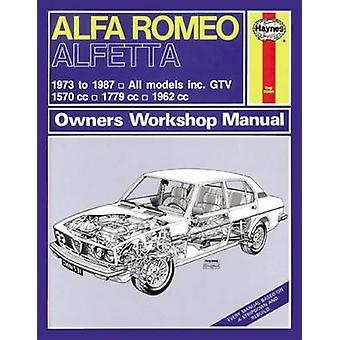 Alfa Romeo Alfetta  197387 by Haynes Publishing