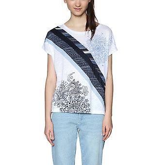 Desigual Women's Mandala Berenice Tshirt Top