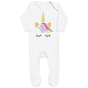My Niece Is A Unicorn - Matching Set - Baby Romper & Mum T-Shirt
