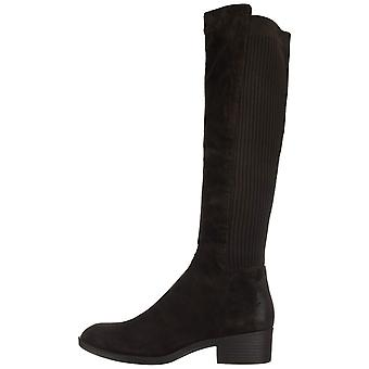 Kenneth Cole New York Womens Levon Boot Leather Round Toe Knee High Fashion Boots