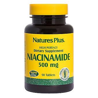 Nature's Plus Niacinamida 500mg Pestañas 90 (1890)