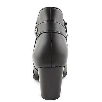Giani Bernini GB35 Abalina Casual Ankle Boots, Black, Black, Size 7.0