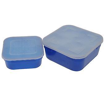 Diem Unisex Bait Box Set Square Air Holes Holder Container Pack of 2