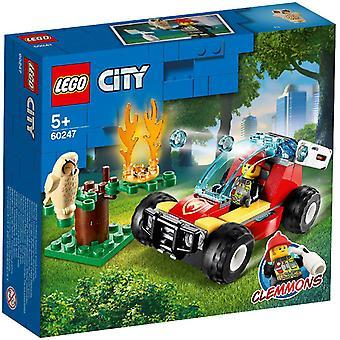 LEGO 60247 Stadt Wald Feuer Bau Spielset