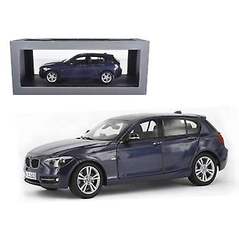 BMW F20 1 Série Blue 1/18 Diecast Car Model par Paragon