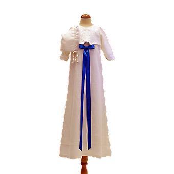 Dopklänning Grace Of Sweden, Med Brokad-väst Och Dophätta, Turkos R
